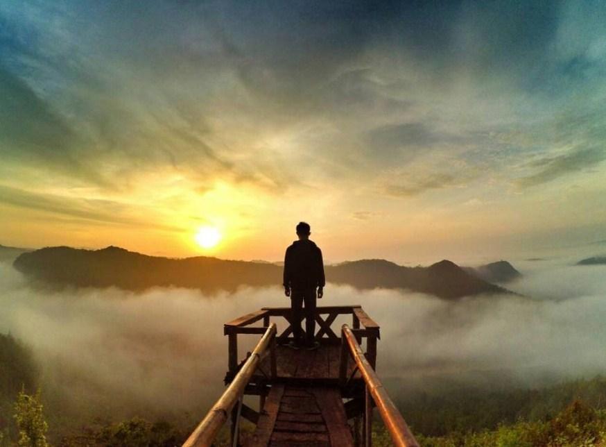Wisata Alam jogja Bukit Panguk Kediwuk yang penuh pesona